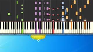 [Piano Tutorial Synthesia]Carletto principe dei mostri - Zecchino D'Oro