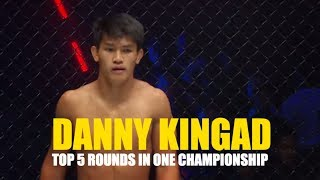 ONE Highlights | Danny Kingad's Top 5 Rounds