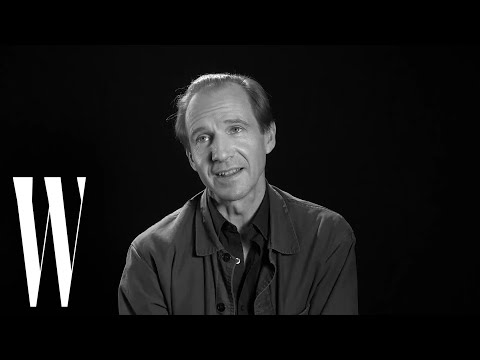 Ralph Fiennes on His Audrey Hepburn Crush and Movies That Make Him Cry | Screen Tests | W Magazine