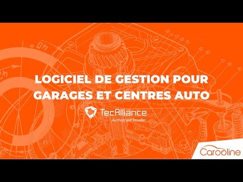 Carooline - Logiciel pour Garages et Centres auto, connecté au catalogue Tecdoc