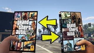 GTA 5 vs GTA 4 - ÇOK ŞAŞIRACAKSINIZ (KIM KAZANIR?)
