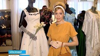 На наряды советских модниц можно посмотреть в краснодарском музее(Любопытная выставка открылась в Краснодаре. На одной полке оказались сразу несколько десятилетий: туфли..., 2016-03-06T09:24:11.000Z)