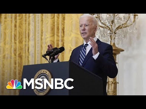 No Covid Questions As Border Takes Focus At Biden Press Conference   The 11th Hour   MSNBC