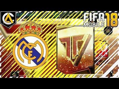 Abriendo Sobres del Real Madrid de Heroes del Equipo FIFA MOBILE 18 Español Arraiz Games