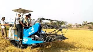 AGRI-70  COMBINE HARVESTER IN MYANMAR