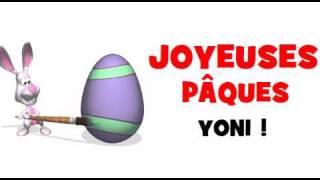 JOYEUSES PÂQUES YONI