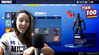 FORTNITE BATTLEPASS SEASON 4 IS OUT?! 😱-Fortnite Battle Royale (UPDATES)