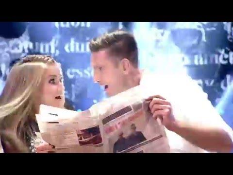Łukasz Kadziewicz i Agnieszka Kaczorowska (+ zespół KOMBII ) - DWTS 4 - ODCINEK 5 - Jive