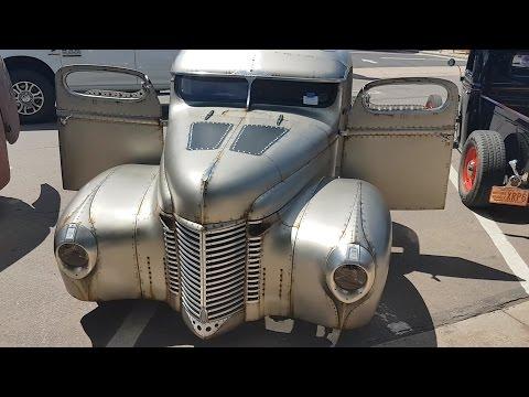 Ганапольские Штаты Америки: выставка раритетных и старинных авто