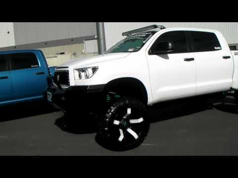 DUBSandTIRES.com 22'' KMC XD 811 Rockstar 2 Black Wheels 2013 Toyota Tundra Rims