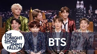 Download Jimmy Interviews the Biggest Boy Band on the Planet BTS Mp3 and Videos