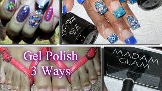First Impression Madam Glam Gel Polish | 3 Different Designs | Lasting Results