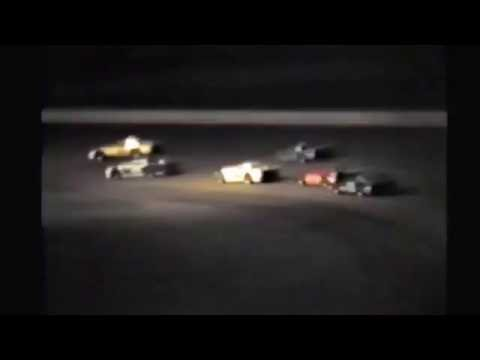 1985 races at Black Hills Speedway #104 Nationals Late Model heat race