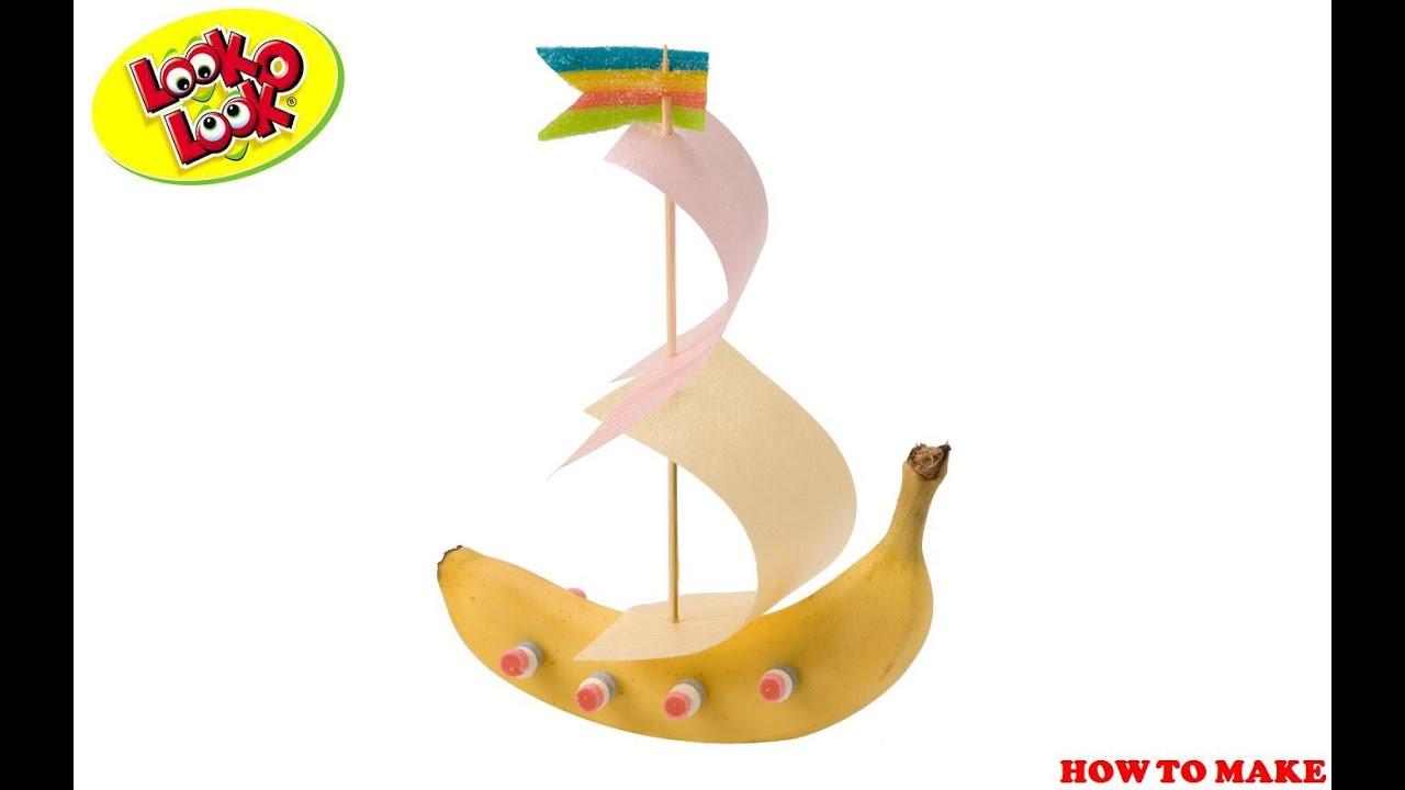 Banana Boat Cake