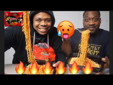 2x Spicy Noodles Challenge | MAM MUKBANG