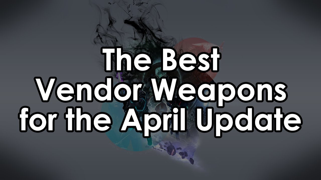 Destiny Taken King: The Best April Update Vendor Weapons