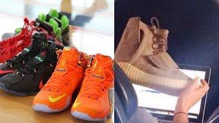 bfafb59578d1c Unreleased Reebok S.Carter Kanye West 2 Sample Sneaker With Dj Delz + Vlog  ·  LeBron12ReleaseDate
