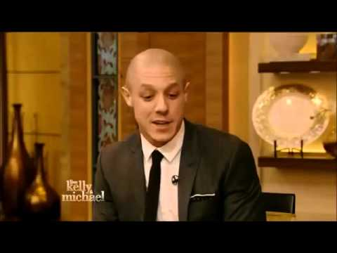"THEO ROSSI THEO ROSSI Interview Live with Kelly and Michae ""Sons of Anarchy"""