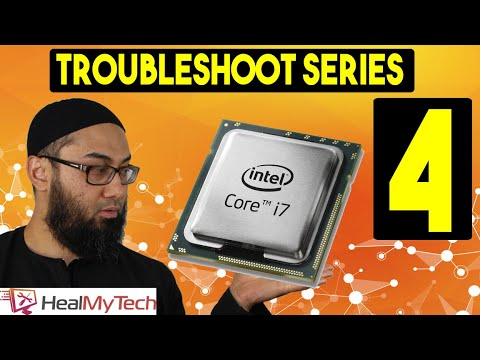 Troubleshoot Series Part 4 | How To Test CPU | Processor | PC Computer Not Turning On No Display