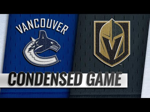 10/24/18 Condensed Game: Canucks @ Golden Knights