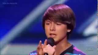 X Factor- Stone Martin- Little Things - One Direction- USA 2013 Audition