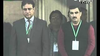 Pakistan National Anthem @ Faysal bank T20 Final - (Mujeeb Mustafa)