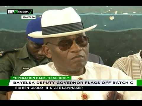 Operation Back to School : Bayelsa Deputy Governor flags off Batch C