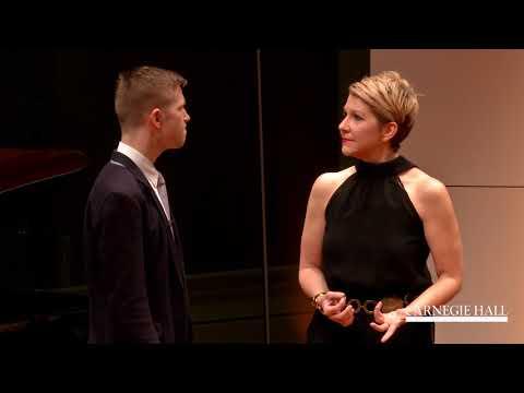 """Joyce DiDonato Master Class January 2016: Handel's """"Cara sposa"""" from Rinaldo"""
