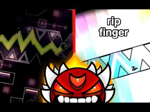 Top 10 EXTREME SPAM DEMONS In Geometry Dash!