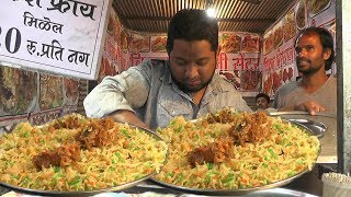 chicken biryani street food