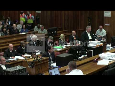SOUTH AFRICA: PISTORIUS TRIAL - BLOODY BAT PHOTOS