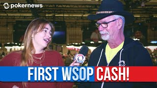 George McBride About His First World Series Of Poker Cash