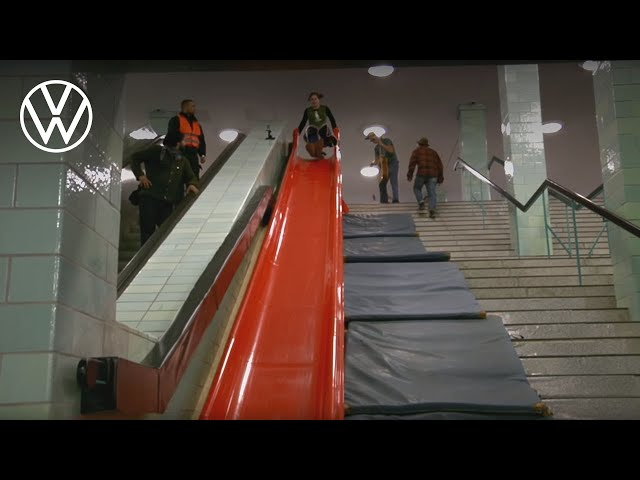 Speed up your life – Take the slide! | Volkswagen