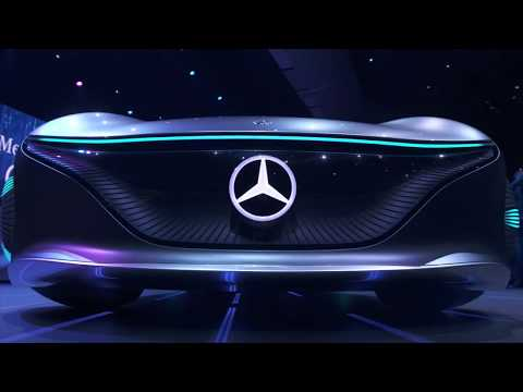 CES2020 Sony and Mercedes concept cars Review