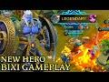 New Hero Tank Bixi Gameplay - Mobile Legends Bang Bang