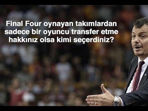 """Ergin Ataman """" Final oynamak kupa almanın önüne geçmez"""""""