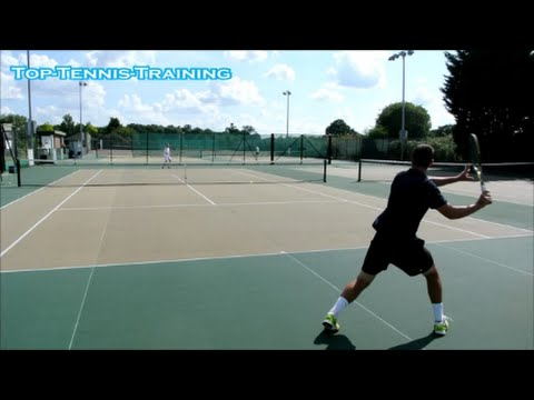 Tennis Practice Training With Atp Pro Part 2 Youtube