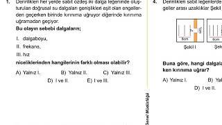 12.Sınıf Fizik Meb Kazanım Testleri-9