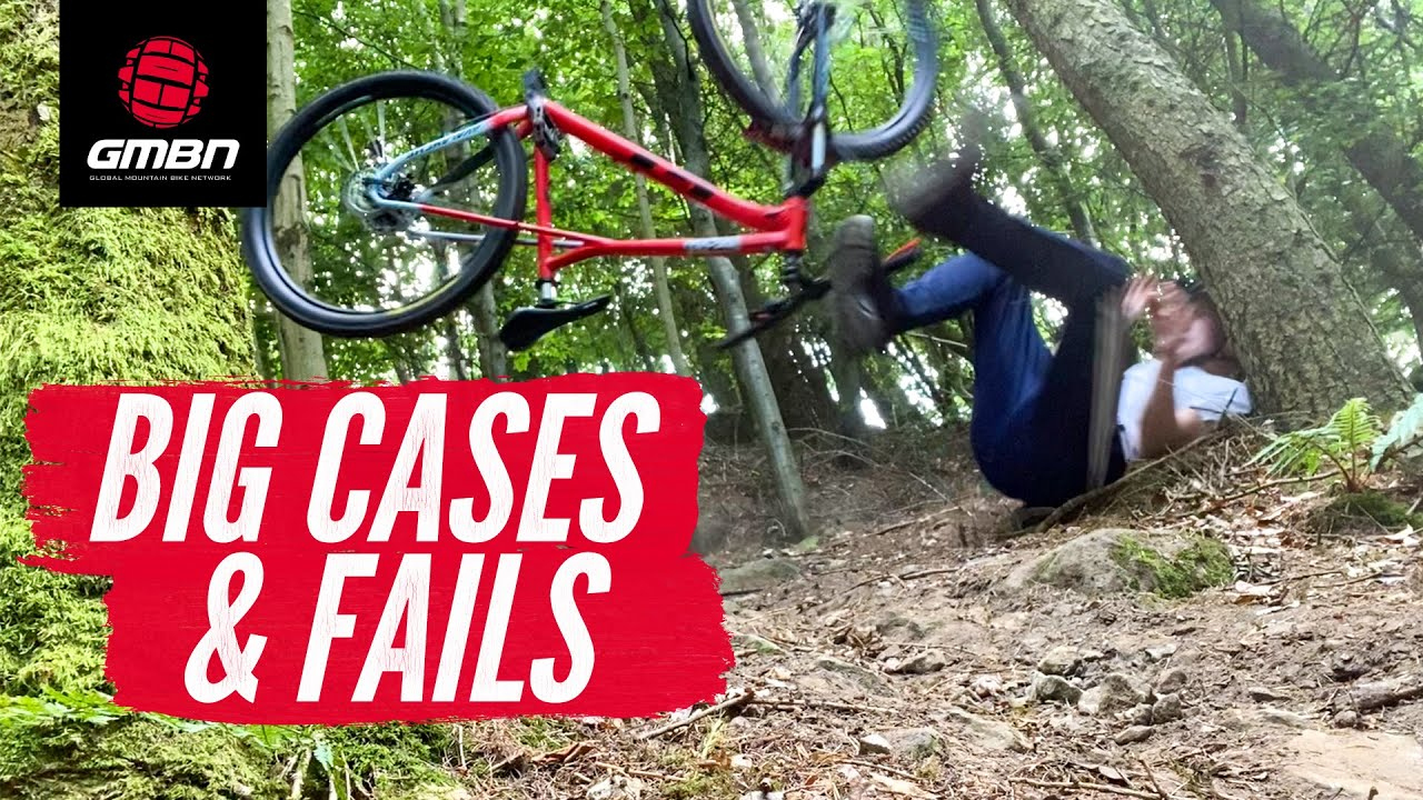 The Best Mountain Bike Fails Of The Month | GMBN's August MTB Fails & Bails