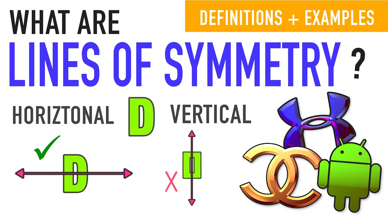 Line Symmetry and Reflection Symmetry Explained! - YouTube