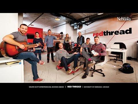 Walter Scott Entrepreneurial Business Award 2017: Red Thread Creative