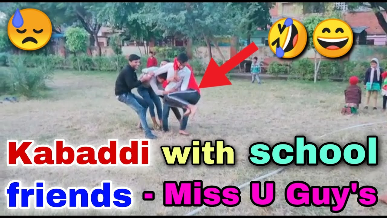 Kabaddi With School Friends 😂 | Last Year Of School | Funny Moments | Tech With Gulfam Vlog,
