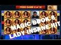Magic Book 6 Slots Big Win, Insane Hit