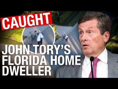 UPDATE: Somebody's STILL USING John Tory's Florida mansion