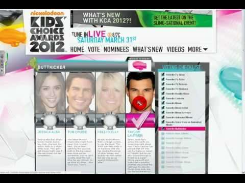How To Vote For The Kids Choice Awards 2012