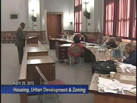 Housing, Urban Development and Zoning - April 29, 2015