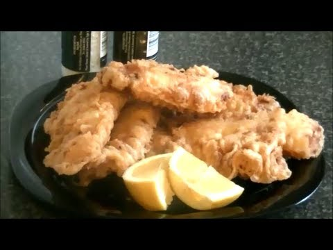 FISH & CHIPS UK STYLE *COOK WITH FAIZA*
