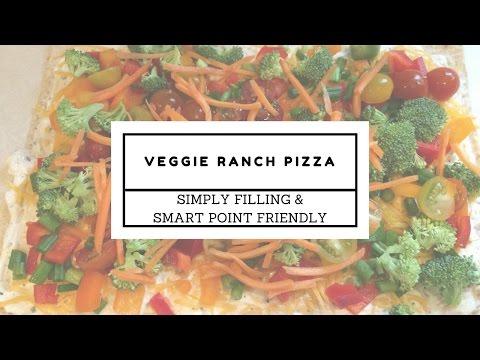 weight-watchers-recipe- -veggie-ranch-pizza