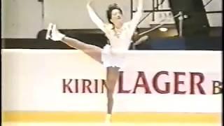 Junko Yaginuma JPN - 1992 NHK Trophy SP 八木沼純子 検索動画 20