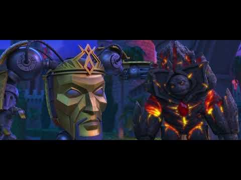 Снежная Королева  Зазеркалье Битва титанов